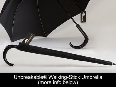 Unbreakable Walking Stick Umbrella