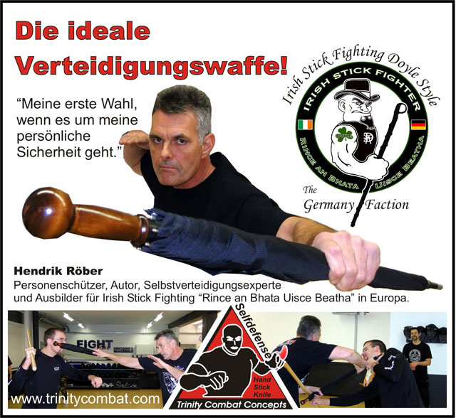Unbreakable® Umbrella - The Ideal Defense Weapon