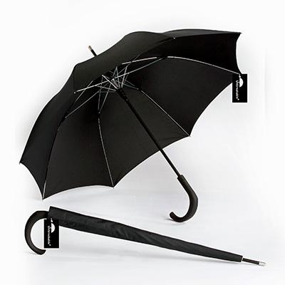 Unbreakable Walking-Stick Umbrella - Premium Model, Crook Handle