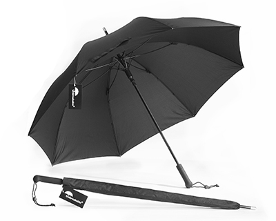 Unbreakable Walking-Stick Umbrella - Standard Model with Straight Handle