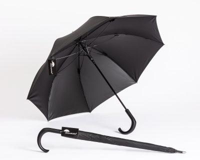 Unbreakable Walking-Stick Umbrella - Standard Model with Crook Handle