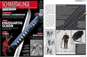 Unbreakable Umbrella In Messer Magazin