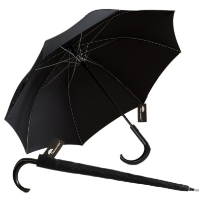 Unbreakable Walking-Stick Umbrella - Premium Model, Crook Handle