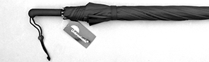 Unbreakable® Walking-Stick Umbrella - Standard Model, Straight Handle