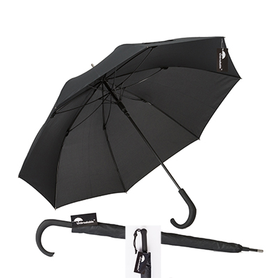 Unbreakable® Walking-Stick Umbrella - Standard Model, Crook Handle plus Straight Handle